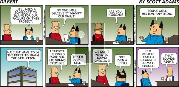 Dilbert on Sunday July 14, 2019 Comic Strip