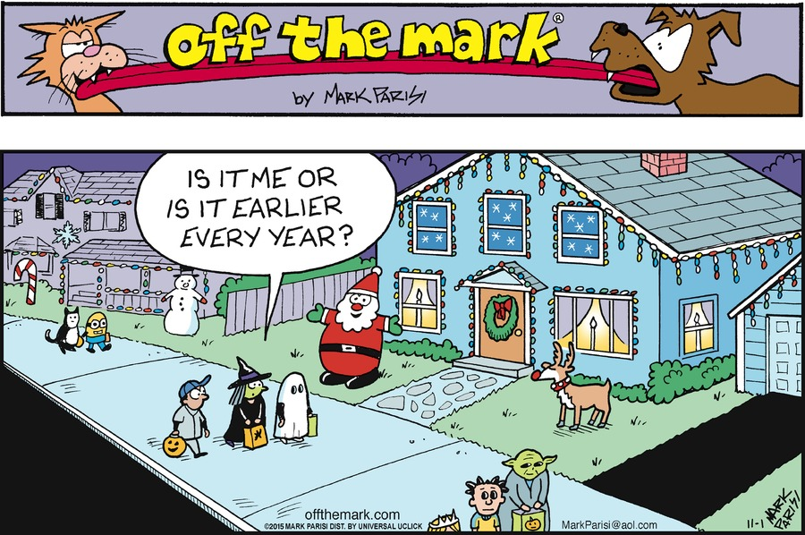Off the Mark Comic Strip for November 01, 2015