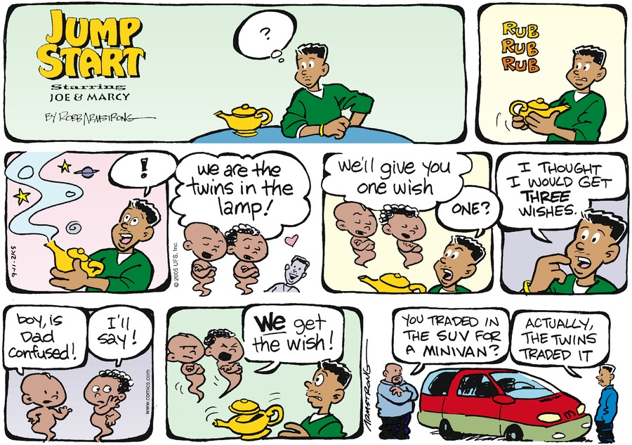 JumpStart Comic Strip for September 11, 2005