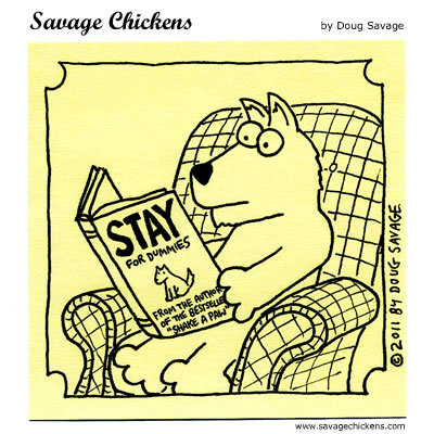 Savage Chickens Comic Strip for February 26, 2015