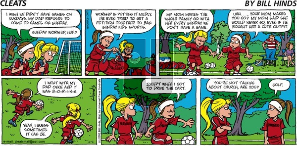Cleats on Monday May 11, 2020 Comic Strip