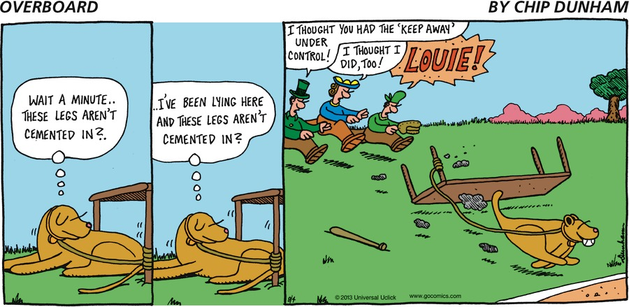 Overboard for Aug 4, 2013 Comic Strip