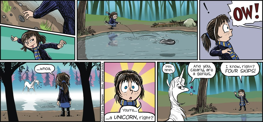 Phoebe and Her Unicorn Comic Strip for April 22, 2012