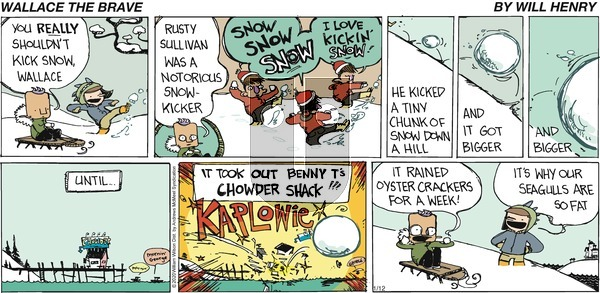 Wallace the Brave on Sunday January 12, 2020 Comic Strip