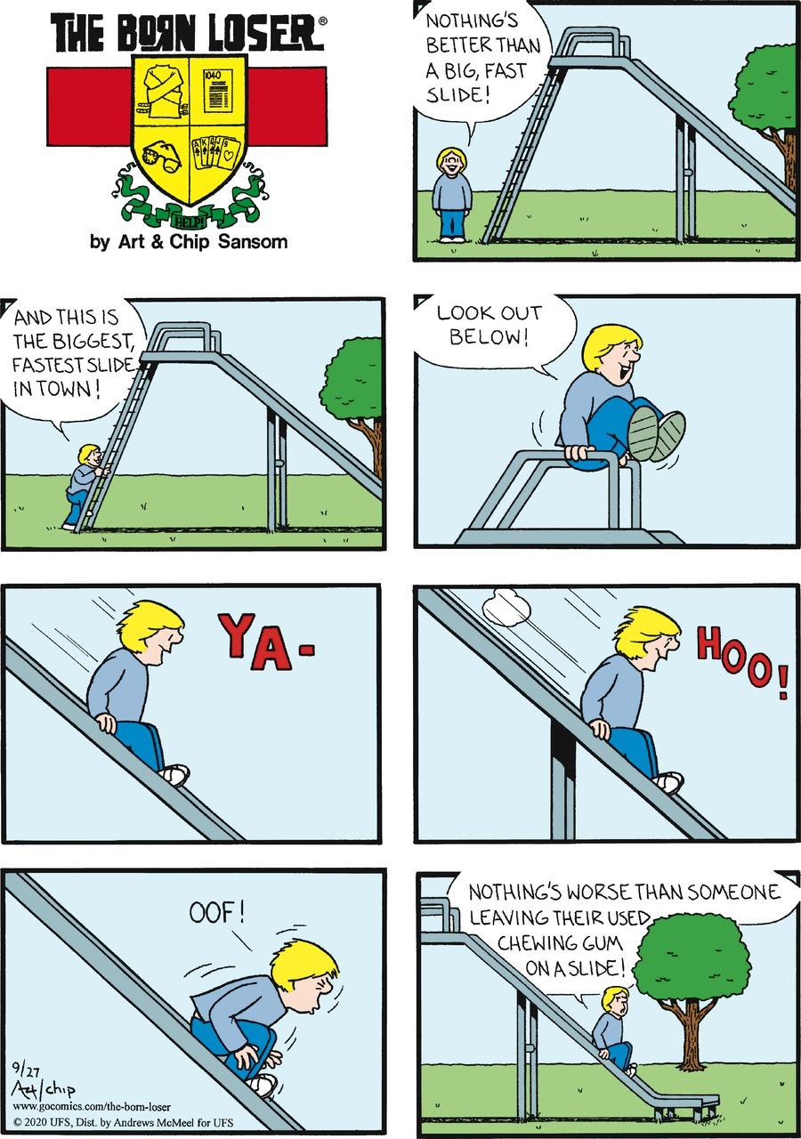 The Born Loser Comic Strip for September 27, 2020