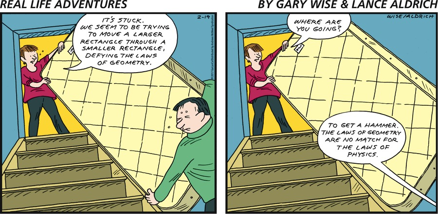 Real Life Adventures Comic Strip for February 19, 2017