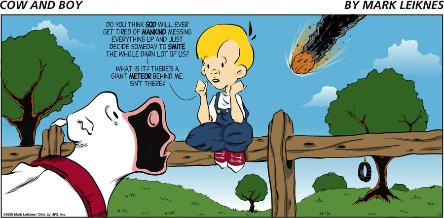 Cow and Boy Classics for Jul 14, 2013 Comic Strip