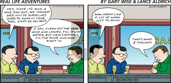 Real Life Adventures on Sunday June 11, 2017 Comic Strip