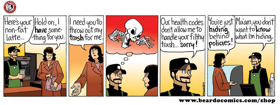 Beardo Comic Strip for June 13, 2018