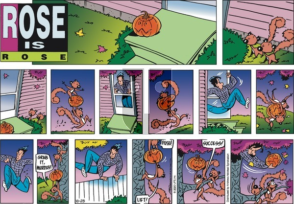 Rose is Rose on Sunday October 25, 2020 Comic Strip