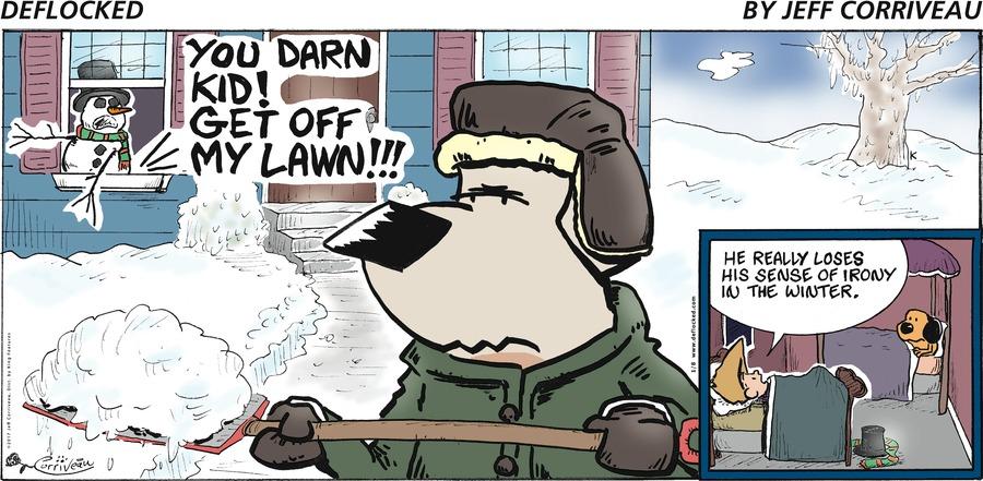 DeFlocked Comic Strip for January 08, 2017