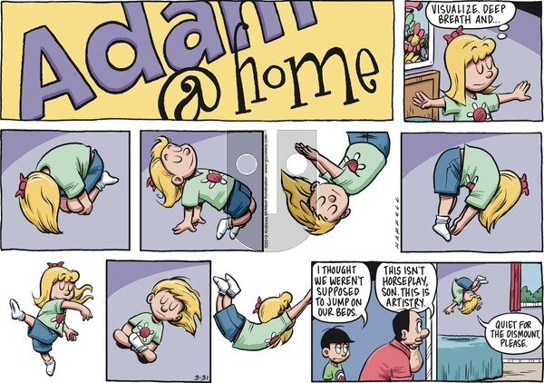 Adam@Home on Sunday March 31, 2019 Comic Strip