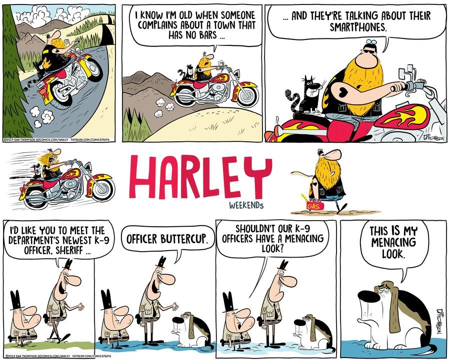 Harley Comic Strip for February 10, 2019