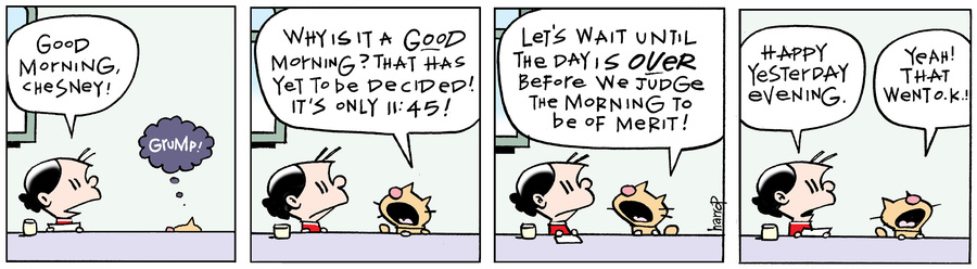 Ten Cats Comic Strip for January 21, 2021