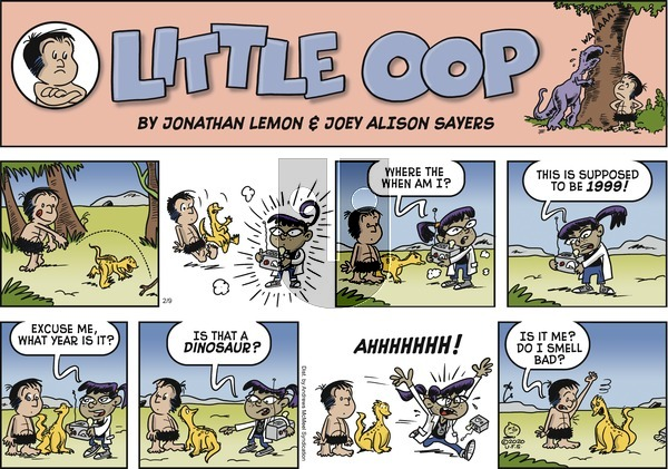 Alley Oop - Sunday February 9, 2020 Comic Strip