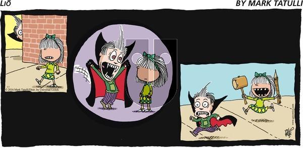 Lio on Sunday April 3, 2016 Comic Strip