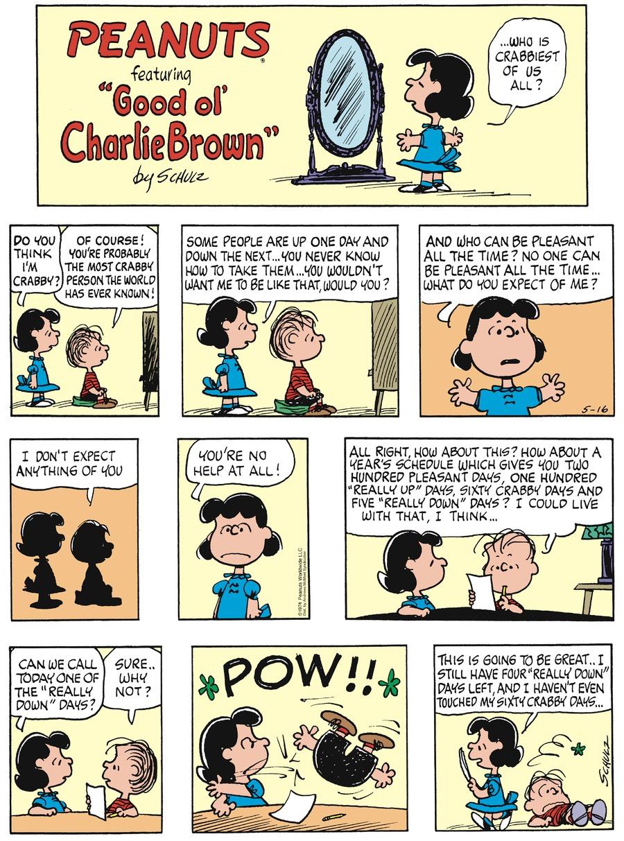 Peanuts Comic Strip for May 16, 2021