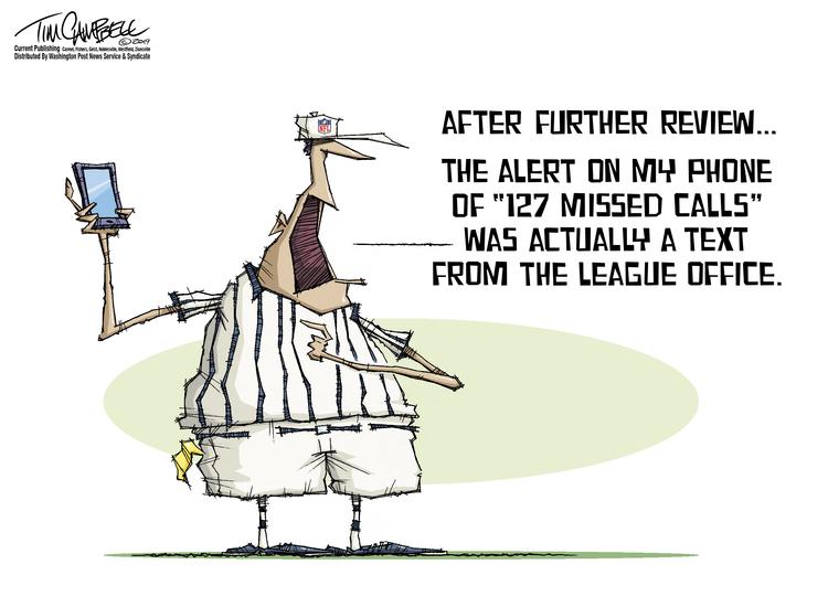 Tim Campbell Comic Strip for December 03, 2019