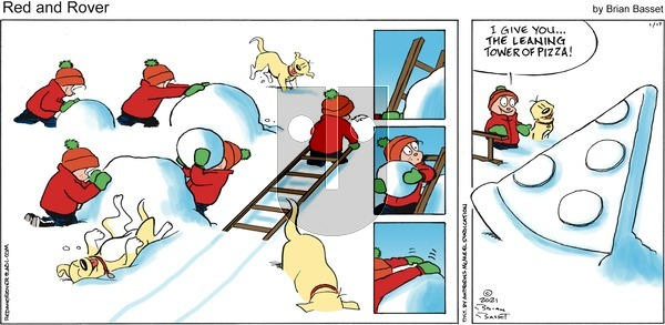 Red and Rover on Sunday January 17, 2021 Comic Strip