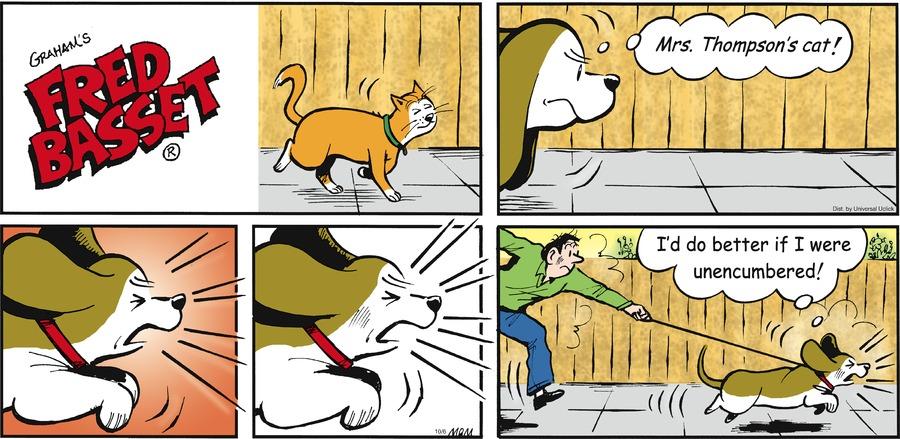 Fred Basset Comic Strip for October 06, 2013