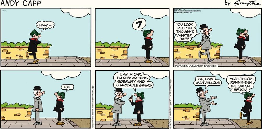 Andy Capp for Feb 17, 2013 Comic Strip