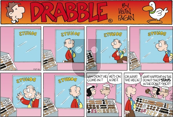 Drabble on Sunday May 27, 2018 Comic Strip