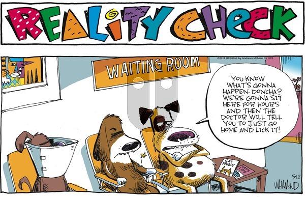 Reality Check on Sunday May 12, 2019 Comic Strip