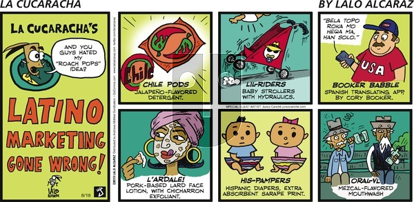 La Cucaracha on Sunday August 18, 2019 Comic Strip