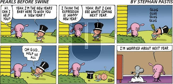 Pearls Before Swine on Sunday December 29, 2019 Comic Strip
