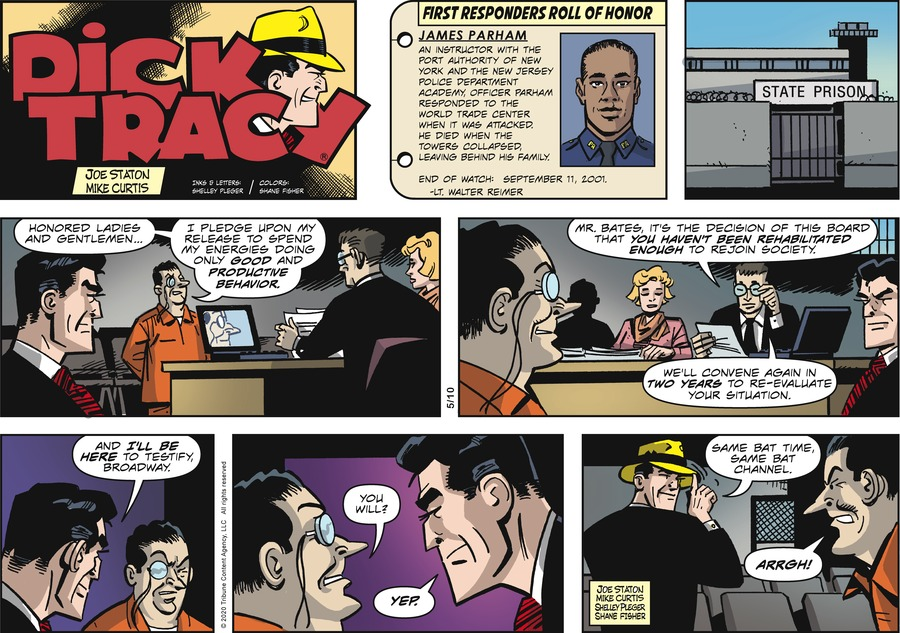 Dick Tracy by Joe Staton and Mike Curtis on Sun, 10 May 2020
