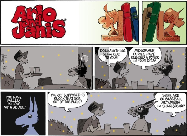 Arlo and Janis on Sunday June 22, 2014 Comic Strip