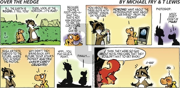 Over the Hedge on Sunday August 20, 2017 Comic Strip