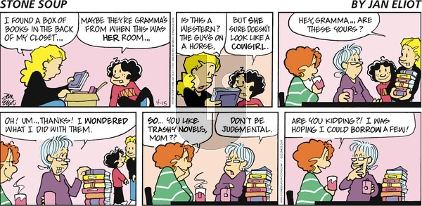Stone Soup on Sunday April 15, 2018 Comic Strip