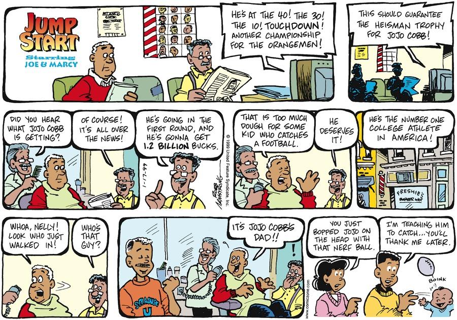 JumpStart for Jan 17, 1999 Comic Strip