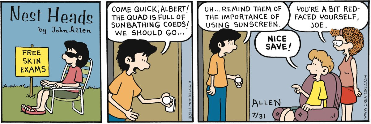 Nest Heads Comic Strip for July 31, 2011