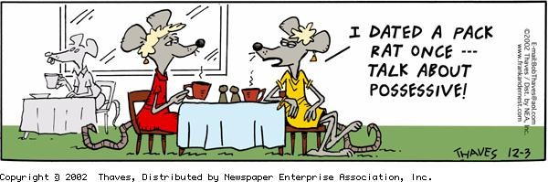 Frank and Ernest Comic Strip for December 03, 2002