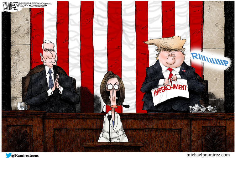 Michael Ramirez Comic Strip for February 06, 2020
