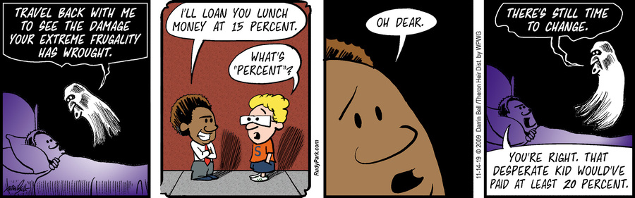 Rudy Park Comic Strip for November 14, 2019