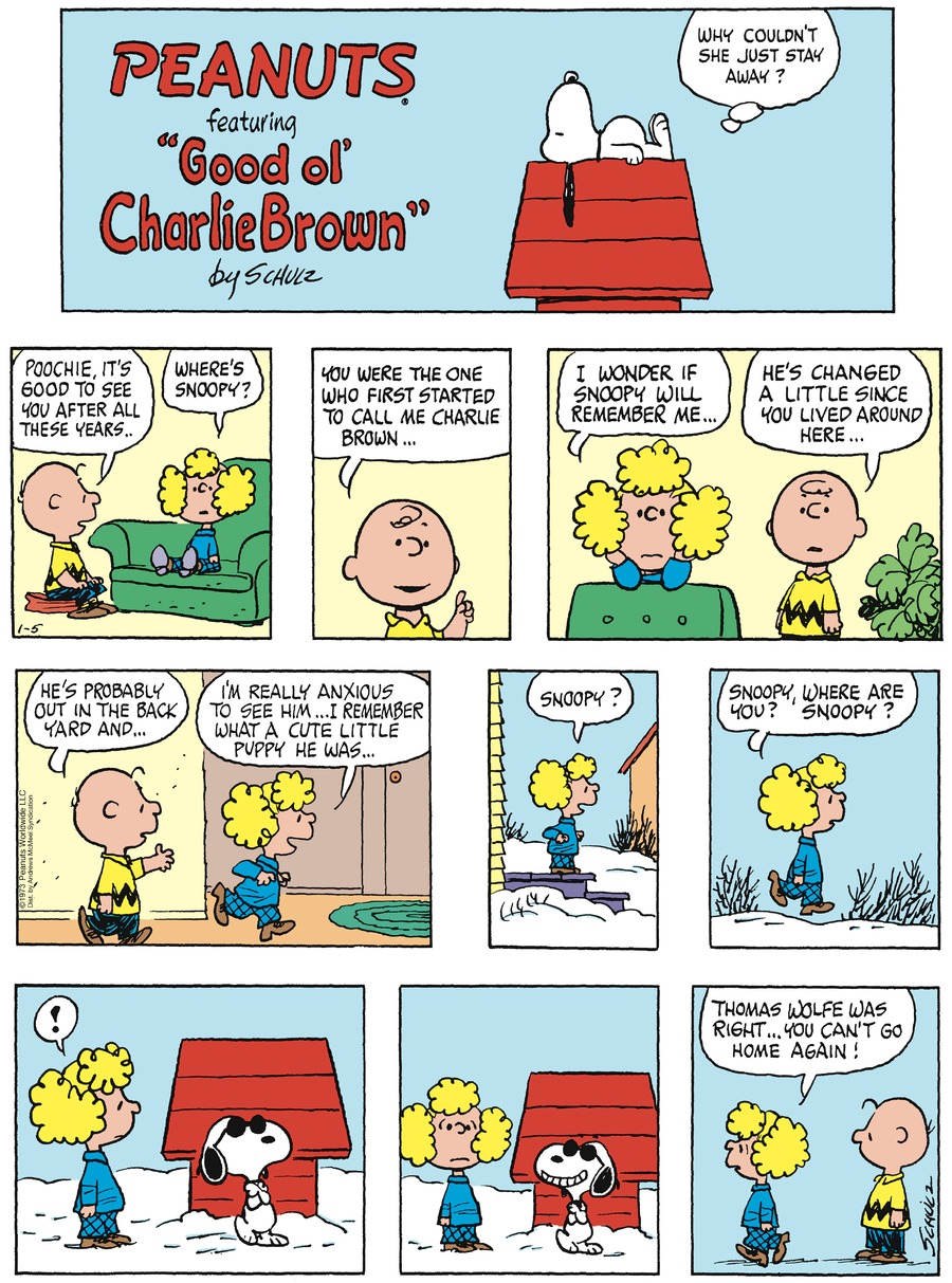 Peanuts by Charles Schulz on Sun, 05 Jan 2020
