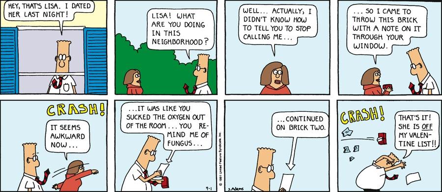 Dilbert Classics Comic Strip for November 09, 2014