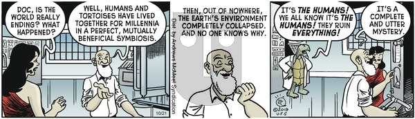 Alley Oop - Monday October 21, 2019 Comic Strip