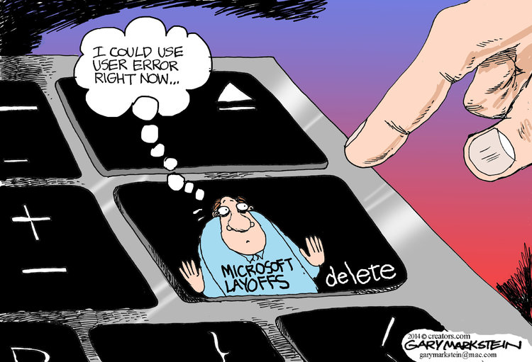 Gary Markstein for Jul 18, 2014 Comic Strip