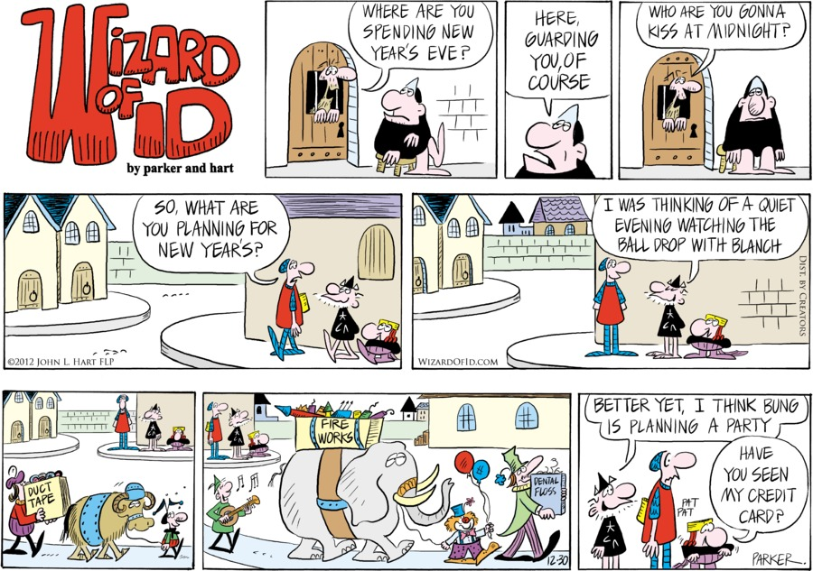 Wizard of Id for Dec 30, 2012 Comic Strip