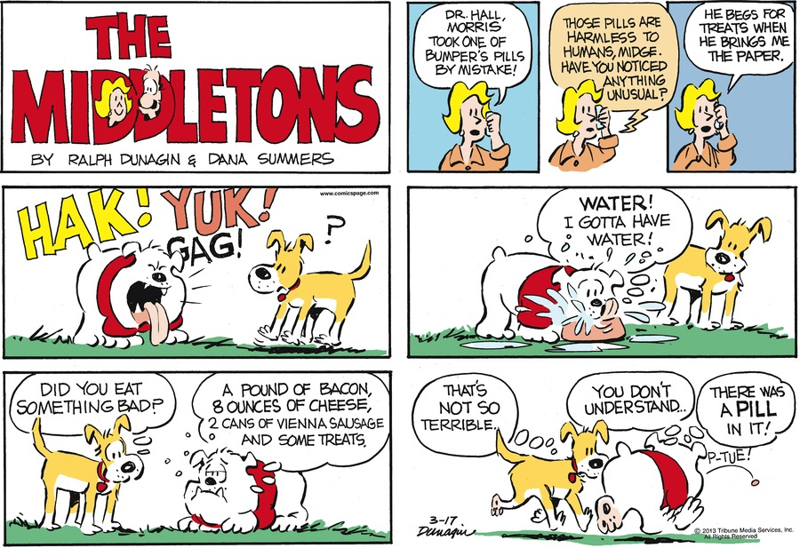 The Middletons for Mar 17, 2013 Comic Strip