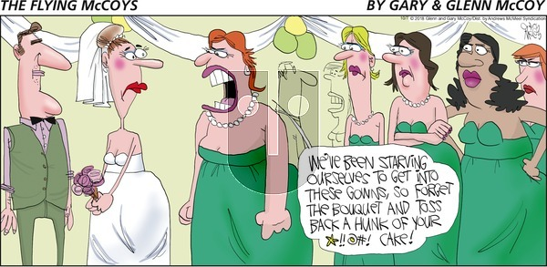 The Flying McCoys on Sunday October 7, 2018 Comic Strip