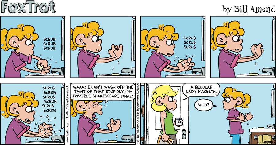 FoxTrot Comic Strip for May 27, 2018