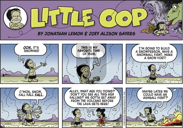 Alley Oop on Sunday December 8, 2019 Comic Strip