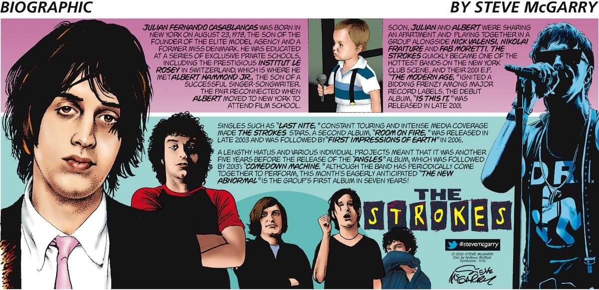 Biographic Comic Strip for April 12, 2020