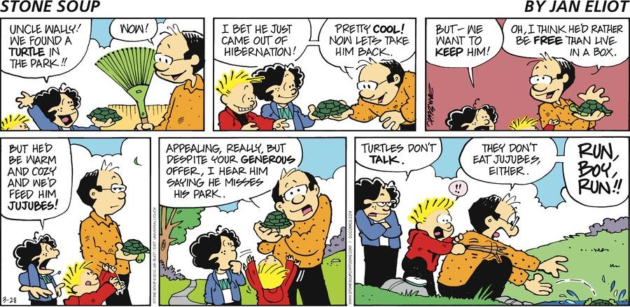 Stone Soup for Mar 28, 2010 Comic Strip