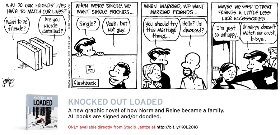 The Norm Classics Comic Strip for February 15, 2019